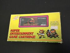 Mortal Kombat SHVC-KX Nintendo SNES Super Famicom JAP #NEW OLD STOCK RARE