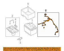 FORD OEM 11-14 Mustang-Battery Cable DR3Z14300A