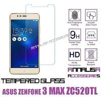 PELLICOLA VETRO TEMPERATO ASUS ZENFONE 3 MAX ZC520TL TEMPERED GLASS PROTEZIONE