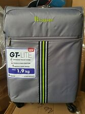 it luggage GT Lite Paloma 4 Wheel Grey Small Cabin 55cm Suitcase New
