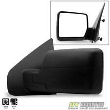 [Left] Driver Side 2004-2014 Ford F150 Pickup Truck Textured Manual View Mirror