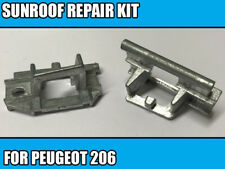 Toit ouvrant Kit de réparation pour PEUGEOT 206 GAUCHE & DROITE métal Slider NEUF 2 PIECES