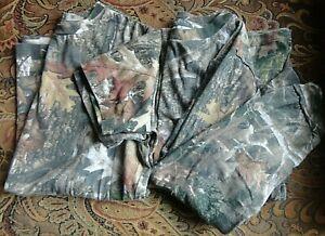 Lot of 2 long & short sleeve shirt camo hunting boys XL real tree Red Head