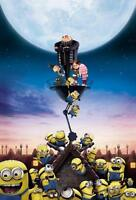 DESPICABLE ME MINIONS TEXTLESS MOVIE POSTER FILM A4 A3 ART PRINT CINEMA