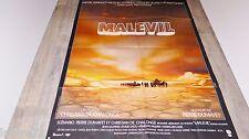 MALEVIL   !   affiche cinema 1980