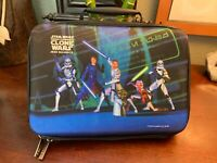 Star Wars The Clone Wars: Jedi Alliance Nintendo DS Travel Case 2008 RARE