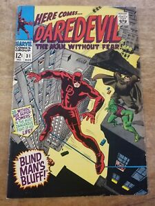 MARVEL COMICS Daredevil (1964) # 31 VG combined shipping!