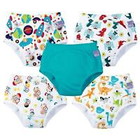 Bambino Mio Potty Training Pants Reusable Pull Up Nappy Diaper Pack of 5 Cotton