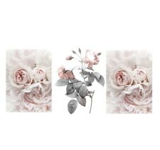 (Reduced Price) A4 or A5 Home Wall Decor Set Of 3 Flower Prints