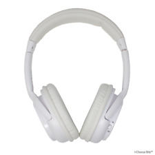 Urbanz Max Wireless Bluetooth Headset / Headphones with Built In Mic / White