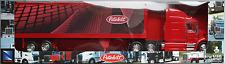 NewRay-peterbilt 387 us-Camion semi-remorque rouge 1:32/piste 1 Nouveau/OVP