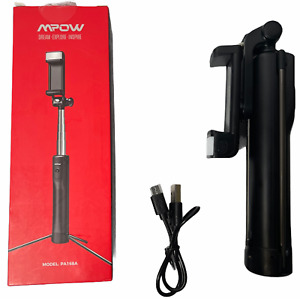 Mpow 4 in 1 Selfie Stick Tripod with Light Extendable Pocket Phone Tripod PA168A