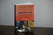 The Norton Anthology American Literature 1914-1945 9th Edition Textbook