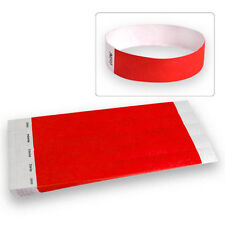 """100ct, 500ct or 1000ct-3/4"""" Tyvek Wristbands-ChooseYourColor-Clubs,Event,Bar Lot"""