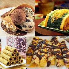 Kitchen Gas Nonstick Waffle Cone Making Mold Moulds Baker Egg Roll Baking Tool