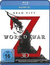 WORLD WAR Z (Brad Pitt, Mireille Enos) Blu-ray 3D NEU+OVP