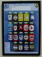 ARL / NSWRL 1993 Distributor's Stubbie Holder advertising flyer - Framed
