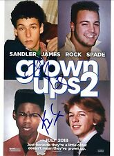 Adam Sandler & Kevin James signed Grown Ups 2 8X10 photo @@ Photo Proof @