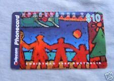 CHRISTMAS 1994  $10  AUSTRALIAN PHONECARD