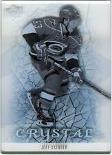 Jeff Skinner 2013-14 Upper Deck Trilogy Hockey Crystal D1144