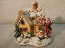 Lilliput Lane Ice 'N' Easy 2004 Snow Place Like Home Collection L2777 Nib Deed