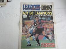 2000-1 CF BARCELONA  v LEEDS UNITED CHAMPIONS LEAGUE OFFICIAL EL PARTIT DEL BARC