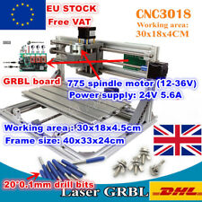 【UK】3 Axis 3018 GRBL Control DIY Mini Laser Engraving Milling Machine Router
