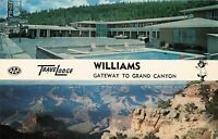 Postcard Williams Travel Lodge Arizona