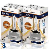 2x D3S Genuine LUREX BULB PK32d-5 XENON Original 35W 4300K DuoBox