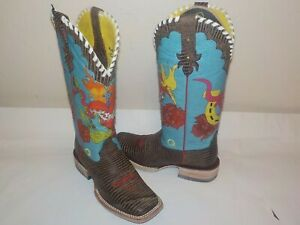 NEW Women's ARIAT Nevada Lily Cowgirl Western Boots, Sz 7.0 B - Stunning