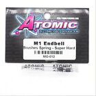 Atomic MO-012 M1 Endbell Brushes Spring Super Hard