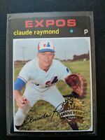 2020 Topps Heritage 50th Anniversary Buyback Foil CLAUDE RAYMOND #536
