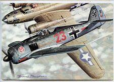 CP Aviation - Chasseurs 2nde Guerre - Focke-Wulf Fw 190 (All.) - F. Bergèse