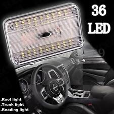 Universal 36 LED Rectangle Car Reading Roof Trunk Indoor Light White Bulb 12V
