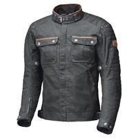 Held Motorradjacke Bailey im Urban-Stil Textiljacke gewachst in schwarz