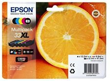 Epson Ink Multipack 33 XL C13T33574010 Black,Cyan,Magenta,Yellow