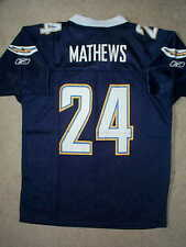 ($50) San Diego Chargers RYAN MATHEWS nfl Jersey YOUTH KIDS BOYS (L-LARGE)