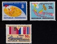 Indonesië postfris 1977 MNH 897-899 - Verklaring Asean-Landen