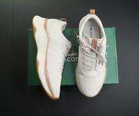 LACOSTE Men's Off-White Court Drive Plus 0120 Sneakers NEW NIB