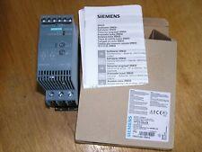 NEW - Siemens 3RW3026-1BB04 E:05 SIRIUS 3RW30 soft starter 25A 11 kW 400 V