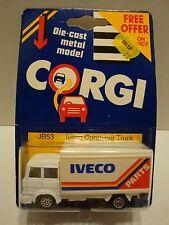 Corgi IVECO Parts Container Truck JB53 Card Damage 1:64 Diecast C9-81