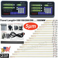 Digital Linear Scale 2/3Axis Readout DRO Display Sensor Mill Lathe EDM Grinding