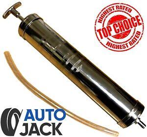 Autojack Oil Suction Vacuum Transfer Syringe Gun Pump Extractor Gearbox 500ml