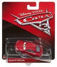 DISNEY PIXAR CARS 3 Veicolo in Metallo Natalie Certain 1:55 - Mattel DXV35