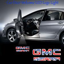 2x Star GMC SIERRA Logo Ghost Shadow Car Door LED Projector Lights for GMC