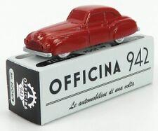 OFFICINA-942 ART2004B SCALA 1/76 FIAT 1500 GHIA COUPE GRAN SPORT 1947 RED