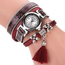 DUOYA Fashion Serpentine Pattern Strap Ladies Bracelet Watch Casual Women Quartz