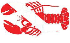 Scuba Diving Bumper Sticker Dive Flag Decal - N.E. Lobster - DS155
