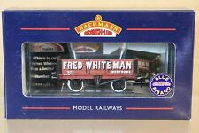 BACHMANN 37-050Y FRED WHITEMAN MONTROSE 5 PLANK WAGON 503 LIMITED EDITION np
