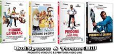 Dvd BUD SPENCER PIEDONE L'Africano - D'Egitto - Hong Kong - Lo Sbirro (4 Film)